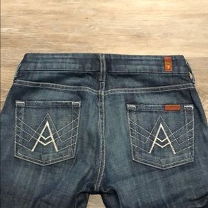 7 For All Mankind Jeans - 7 For All Mankind A-Pocket Flare Leg Jeans.
